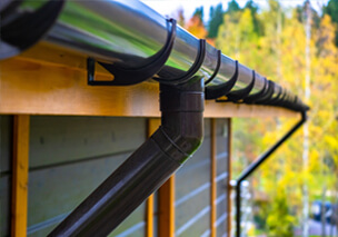 gutters that need cleaning