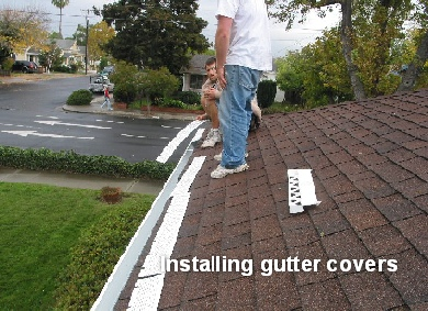 gutters cover system